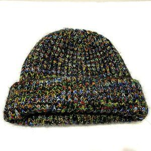 MISSONI Multicolor Knit Thick Warm Wool Beanie Hat